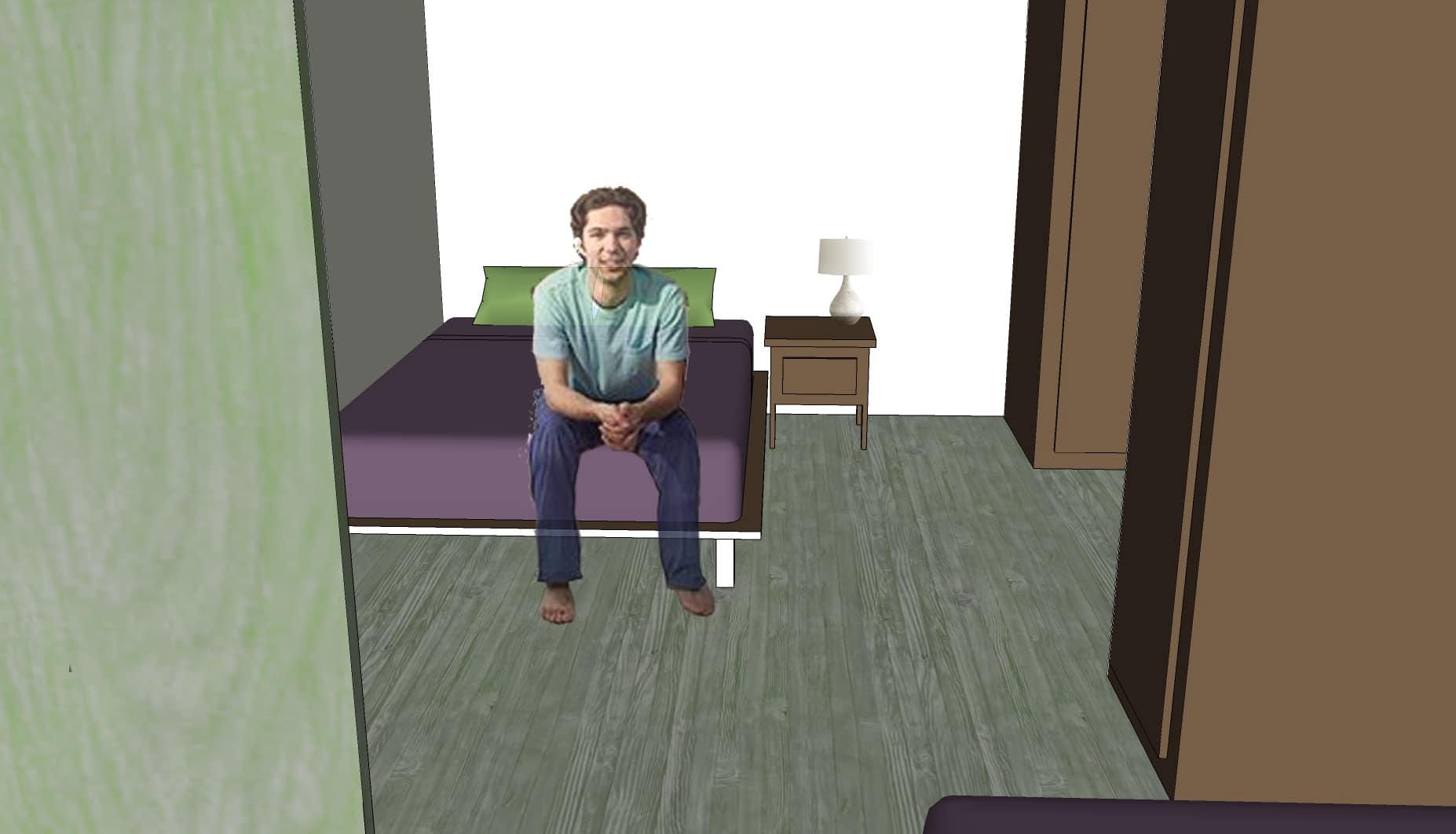 Virtual Tour, dorm view