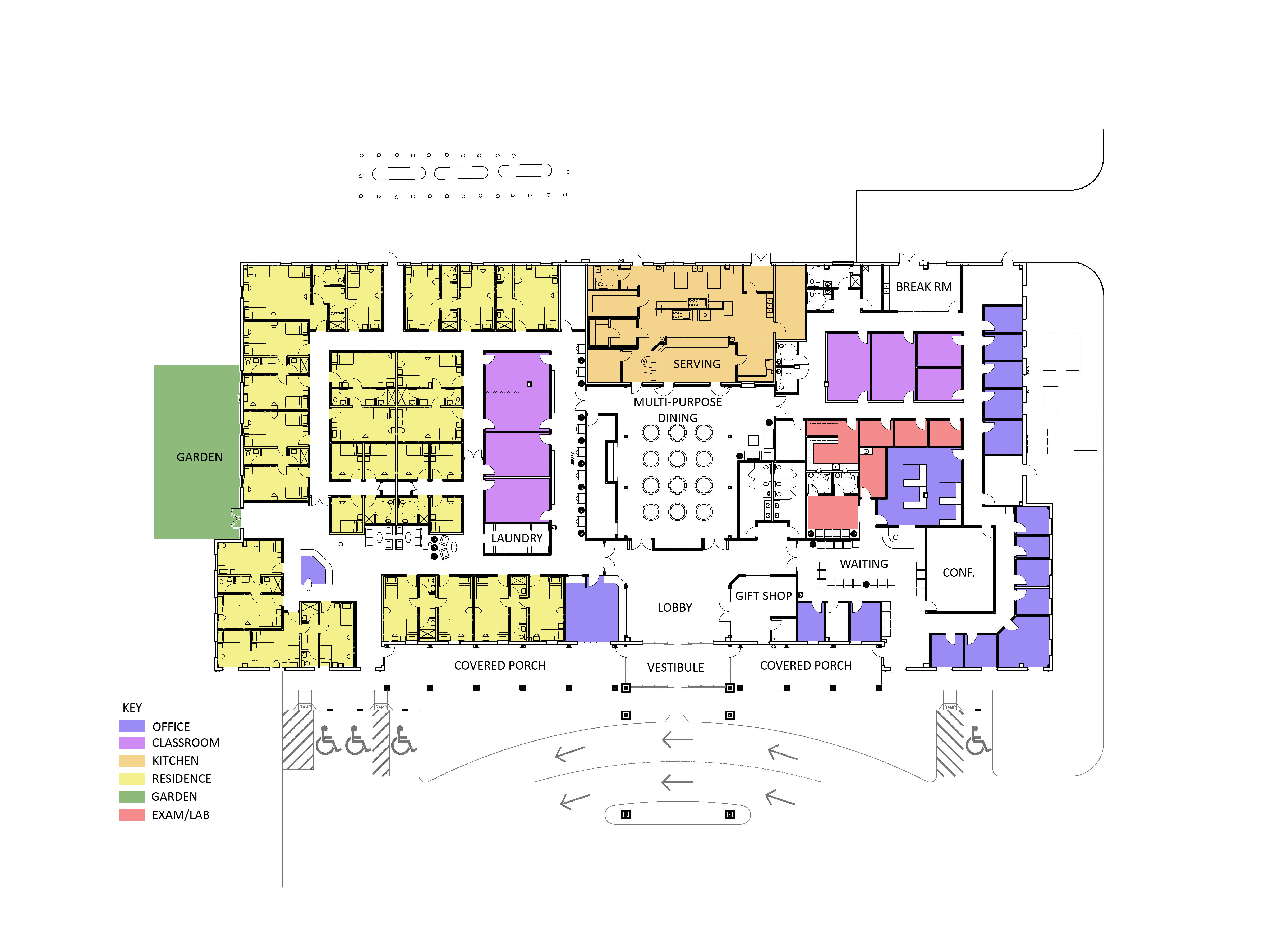 Virtual Tour, architectural drawing