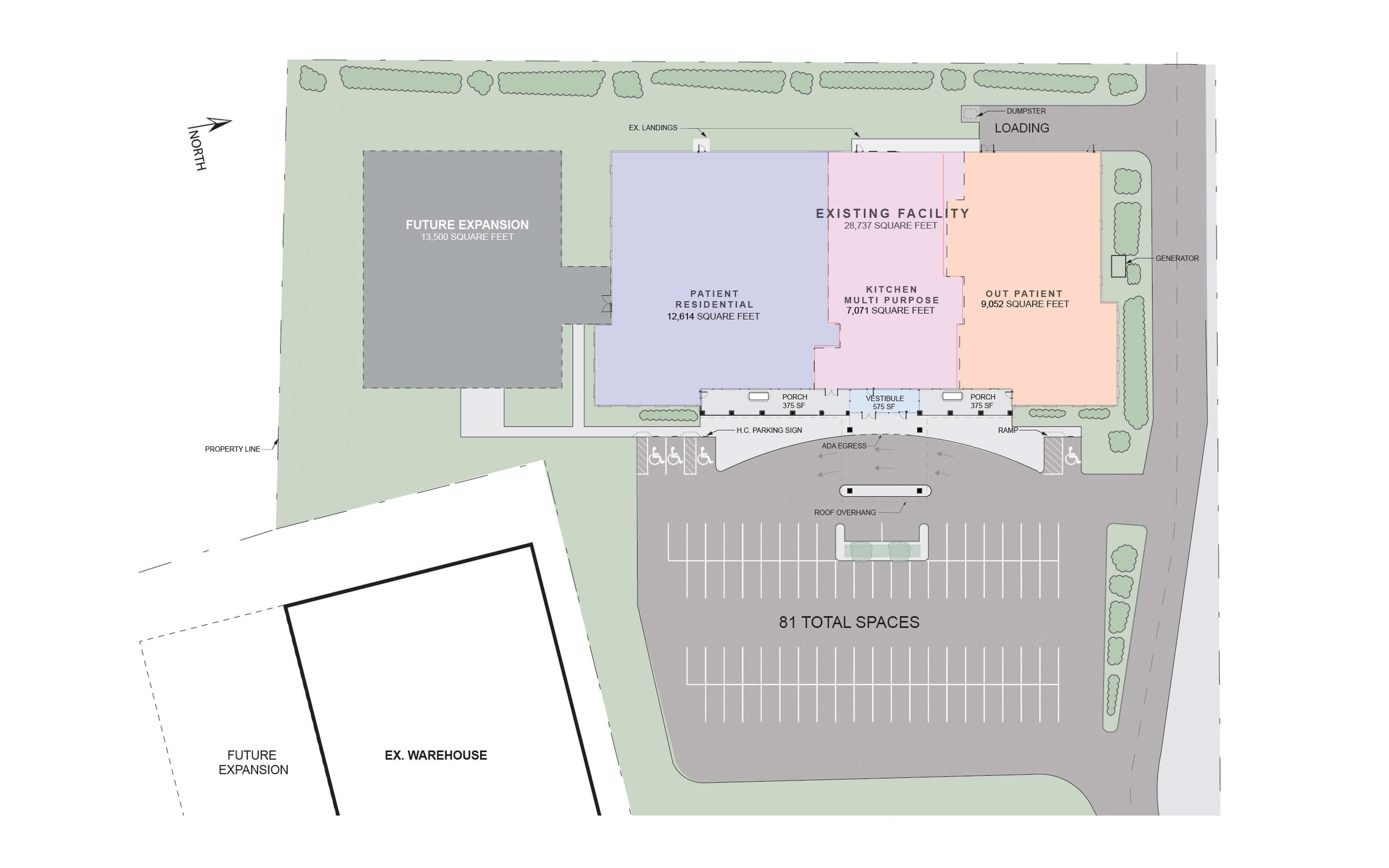 Virtual Tour, architectural of site grounds